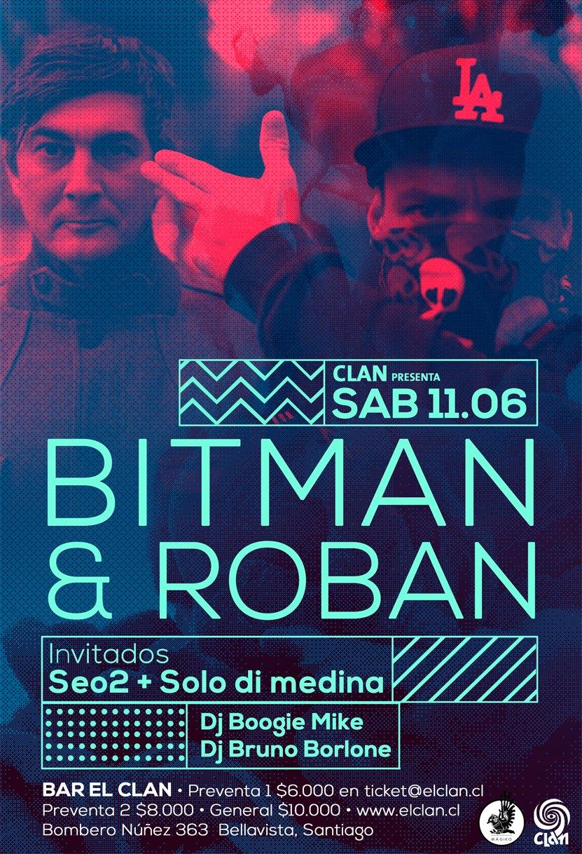 Bitman & Roban afiche baja